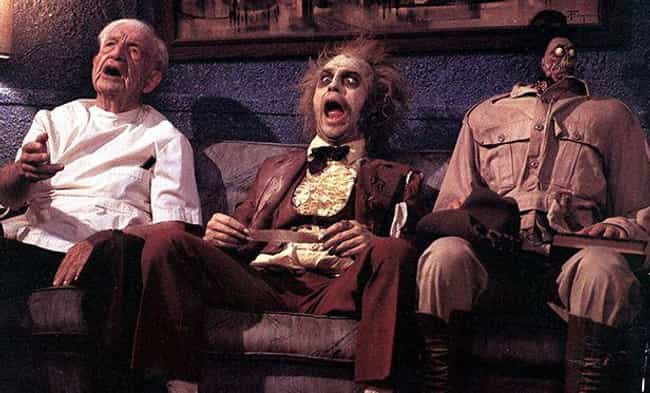 Beetlejuice is listed (or ranked) 3 on the list '80s Movie Fan Theories