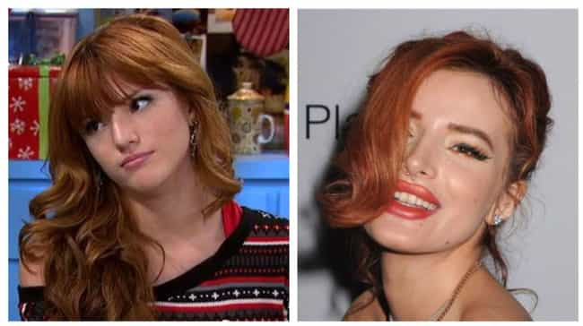 Bella Thorne is listed (or ranked) 4 on the list Former Disney Channel Stars Reveal What It's Really Like Growing Up In The House Of Mouse