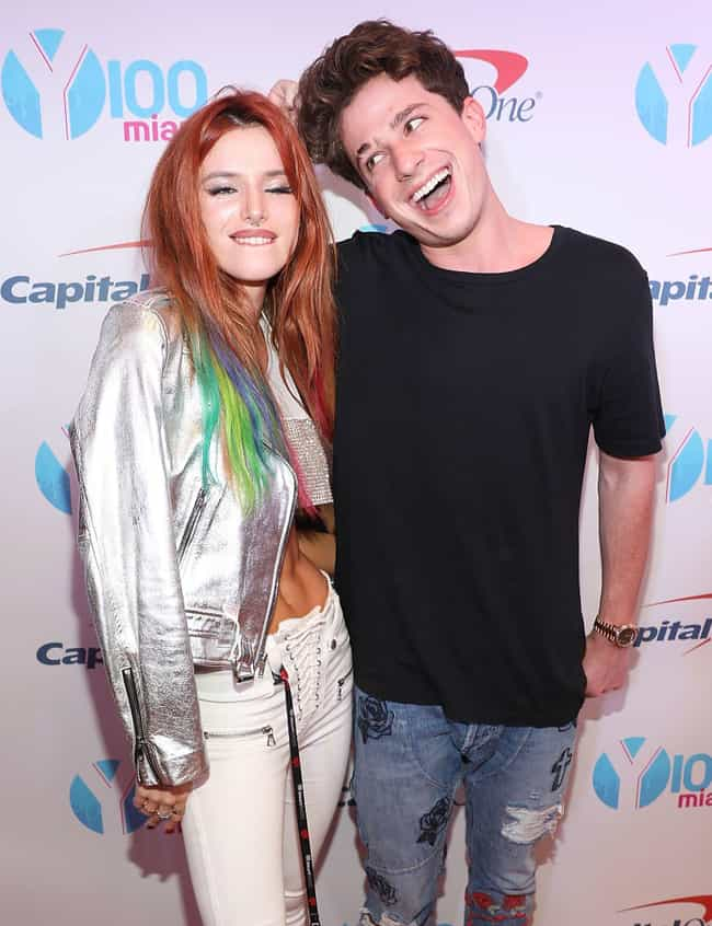 Bella Thorne is listed (or ranked) 2 on the list Charlie Puth Loves and Hookups