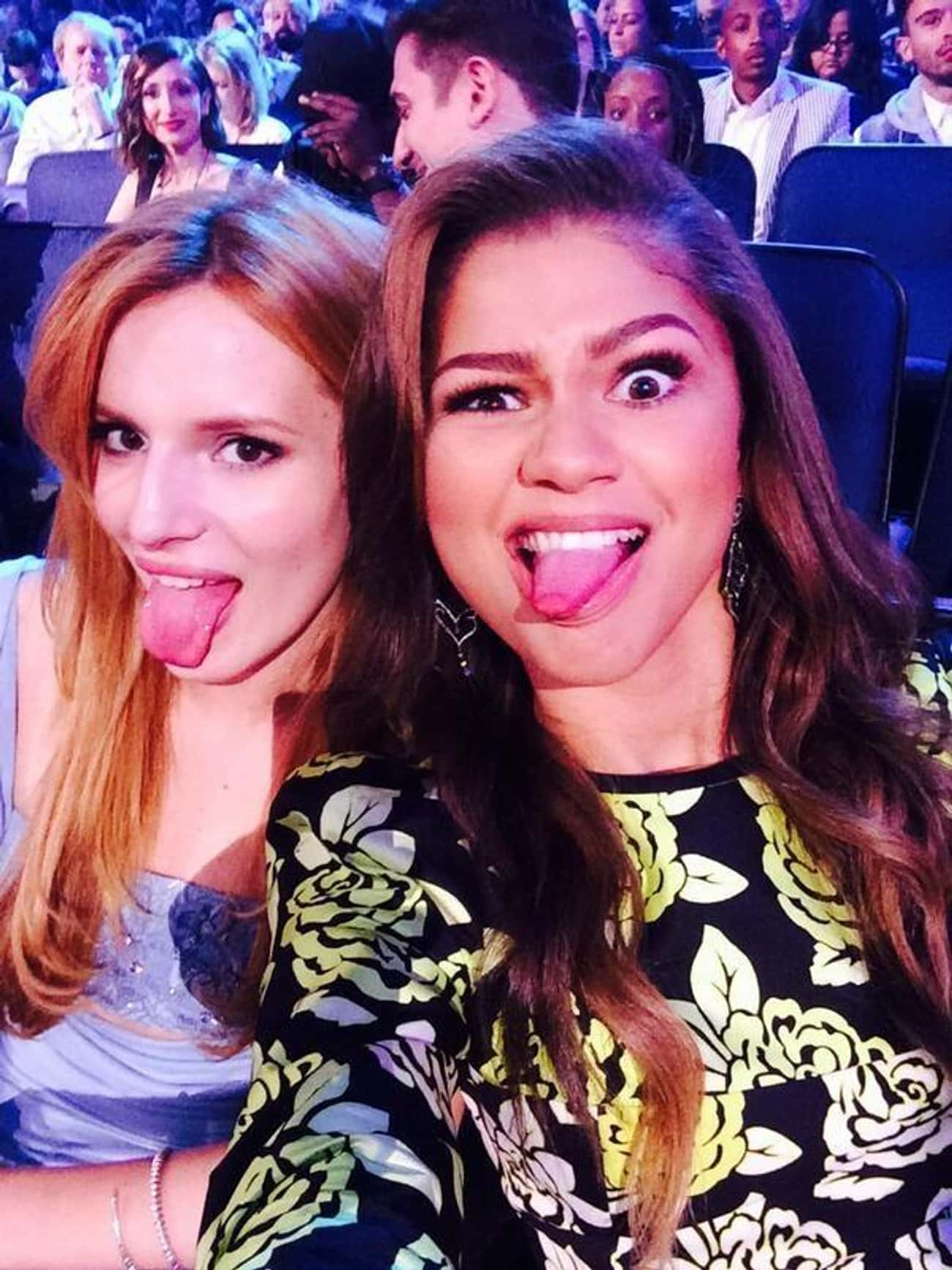 Bella Thorne is listed (or ranked) 1 on the list All Of Zendaya's Famous BFFs