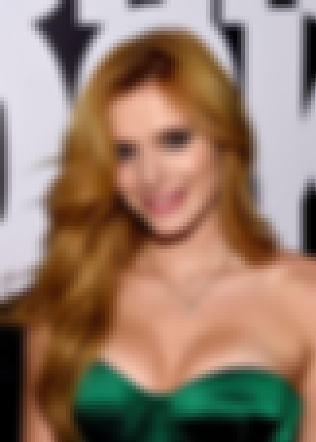 Bella Thorne is listed (or ranked) 4 on the list 2015 Most Sexy Teens Election
