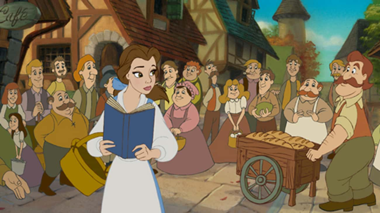 Belle From 'Beauty and the Bea is listed (or ranked) 4 on the list The Most Memorable Introverts In Movie History