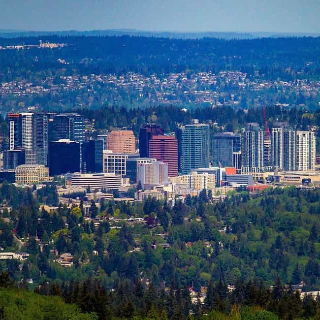 Bellevue is listed (or ranked) 3 on the list The Best Places In Washington To Live