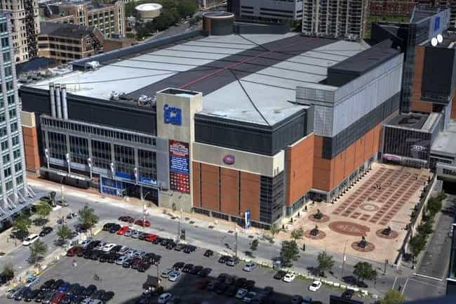 Bell Centre is listed (or ranked) 2 on the list The Best NHL Arenas