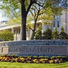 Belmont University is listed (or ranked) 15 on the list Drama & Theater Schools in the US