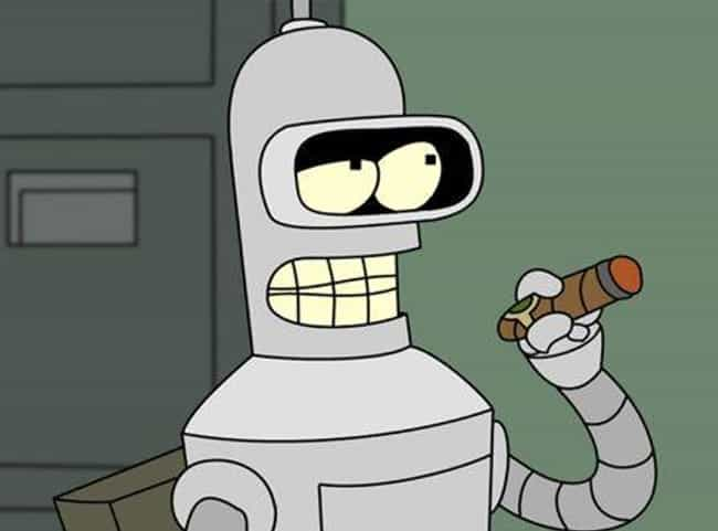Bender is listed (or ranked) 1 on the list Smartass Robots You'd Want As Your Bestie
