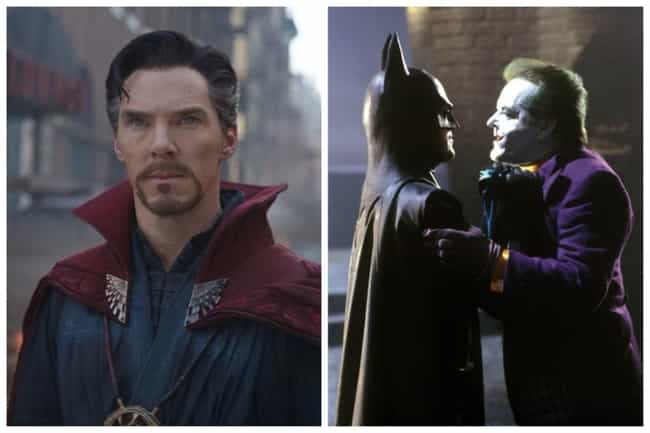 Benedict Cumberbatch is listed (or ranked) 2 on the list Who Were Marvel Cinematic Universe Stars' Favorite Superheroes Growing Up?