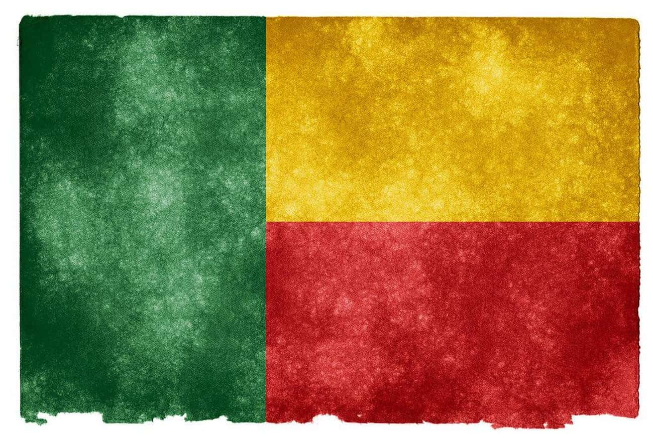 Benin is listed (or ranked) 3 on the list The Countries In Africa