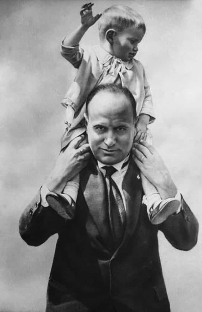Benito Mussolini is listed (or ranked) 3 on the list Photos Of History's Most Notorious Figures Enjoying Family Life
