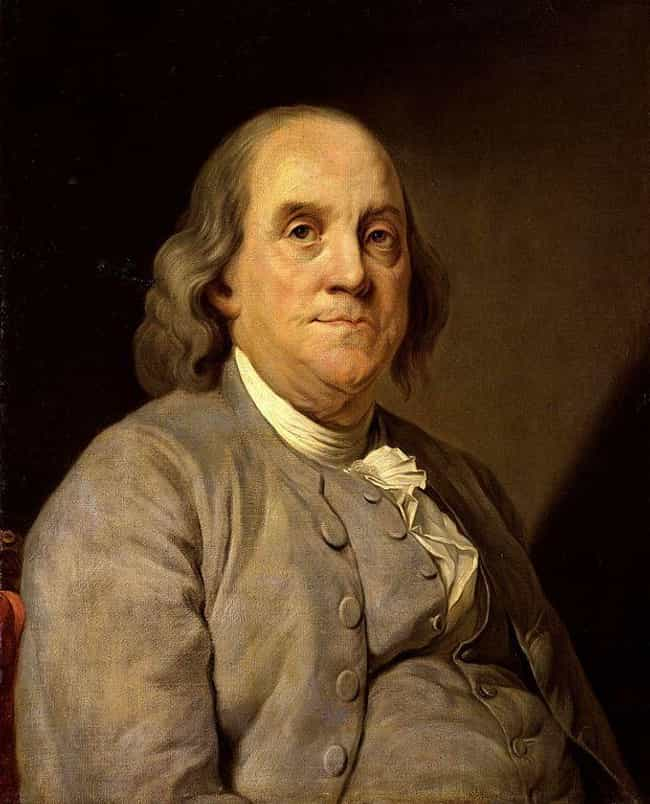 Benjamin Franklin is listed (or ranked) 3 on the list Major Historical Leaders Who Were Debilitated By Gout, 'The Disease Of Kings'