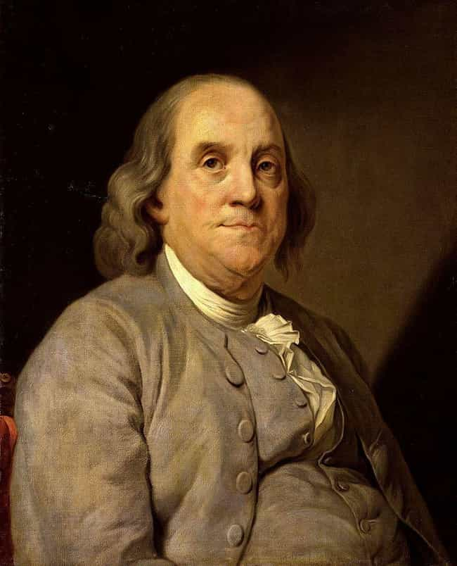 Benjamin Franklin is listed (or ranked) 4 on the list Famous People Who Are Capricorn