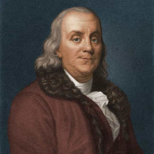 Benjamin Franklin is listed (or ranked) 4 on the list Famous Capricorn Celebrities