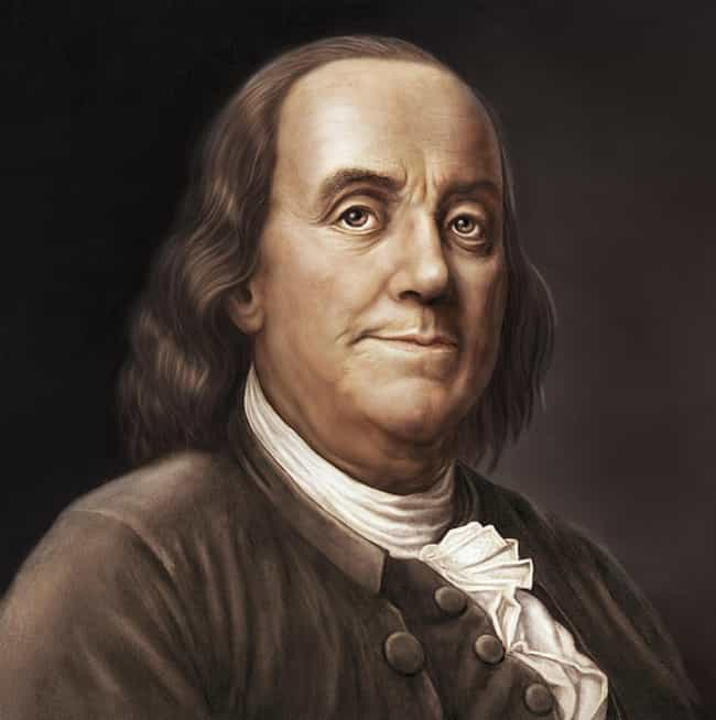 Benjamin Franklin is listed (or ranked) 3 on the list 20 Famous Figures With Unusual Final Wishes