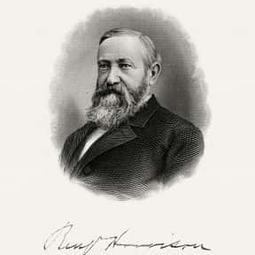 Benjamin Harrison is listed (or ranked) 7 on the list Famous People Named Ben
