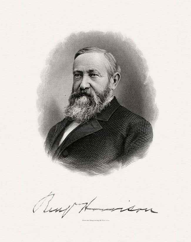 Benjamin Harrison is listed (or ranked) 23 on the list Every U.S. President & Every Medical Problem They've Ever Had