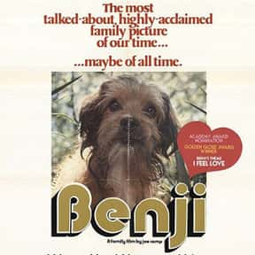 Benji is listed (or ranked) 16 on the list The Greatest Dog Movies Of All Time