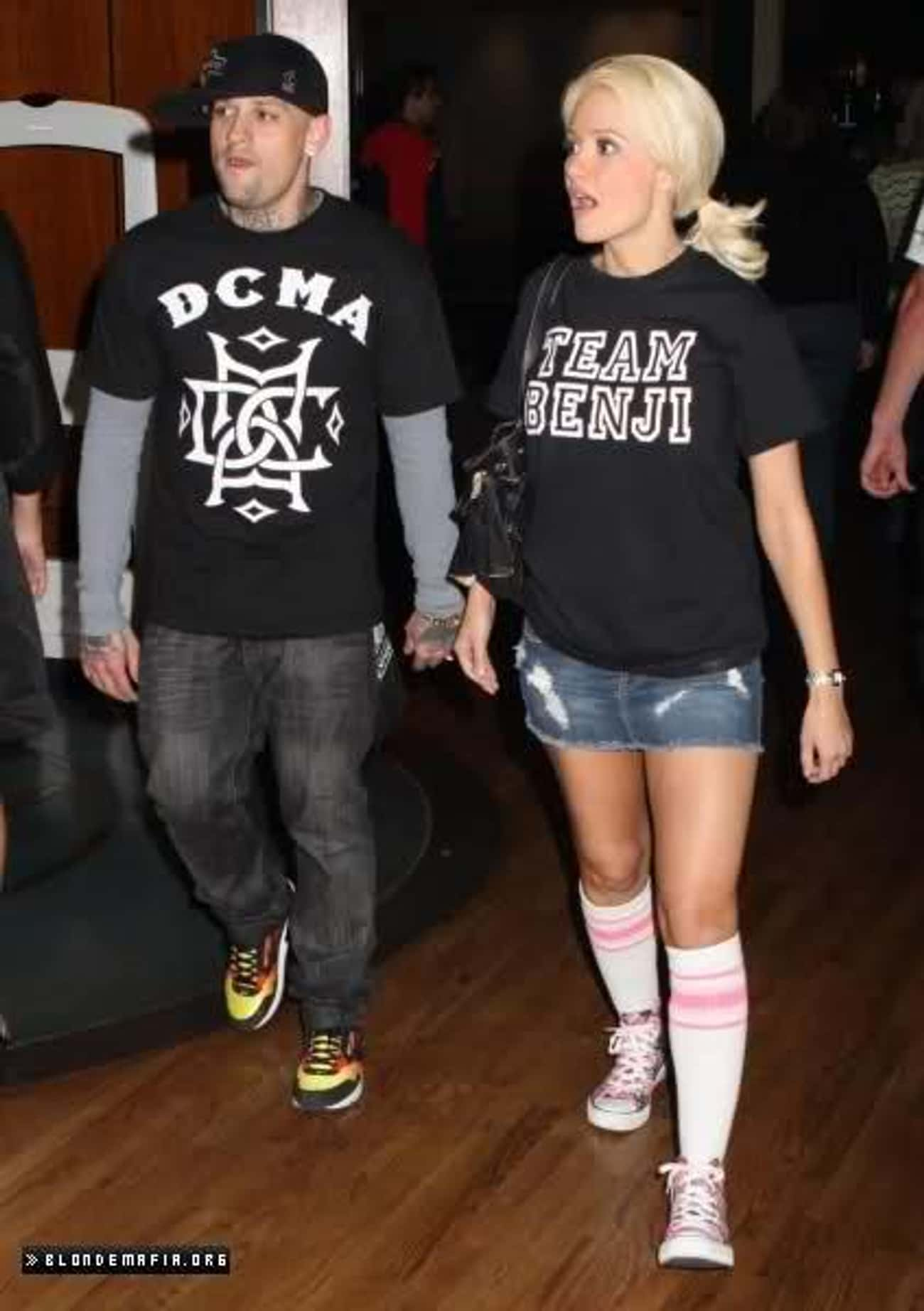 Benji Madden is listed (or ranked) 4 on the list Holly Madison's Loves & Hookups