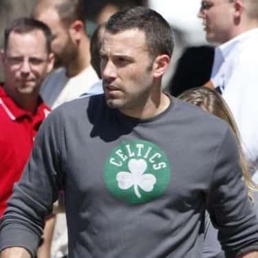Ben Affleck is listed (or ranked) 1 on the list Celebrity Celtics Fans