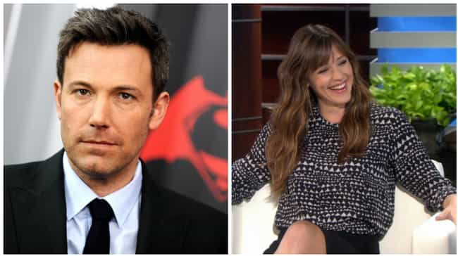 Ben Affleck is listed (or ranked) 3 on the list Celebrity Couples Doomed By Their Zodiac Signs