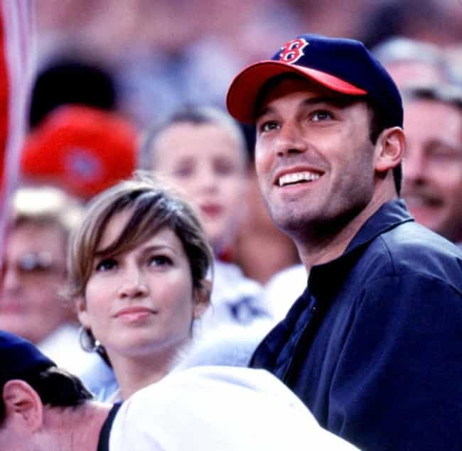 Ben Affleck is listed (or ranked) 1 on the list Celebrity Red Sox Fans