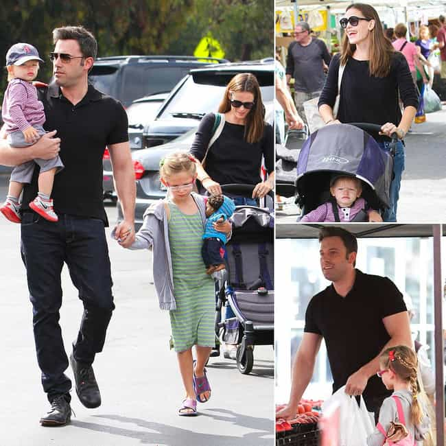 Ben Affleck is listed (or ranked) 4 on the list The Best Celebrity Parents of 2014