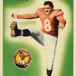 Ben Agajanian is listed (or ranked) 15 on the list The Best Los Angeles Rams Kickers Of All Time