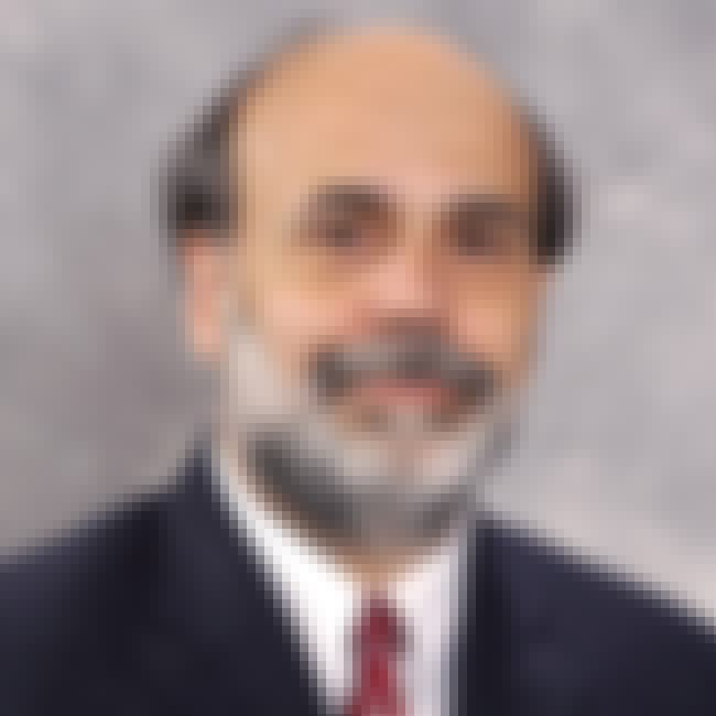 Ben Bernanke is listed (or ranked) 1 on the list List of Famous Economists