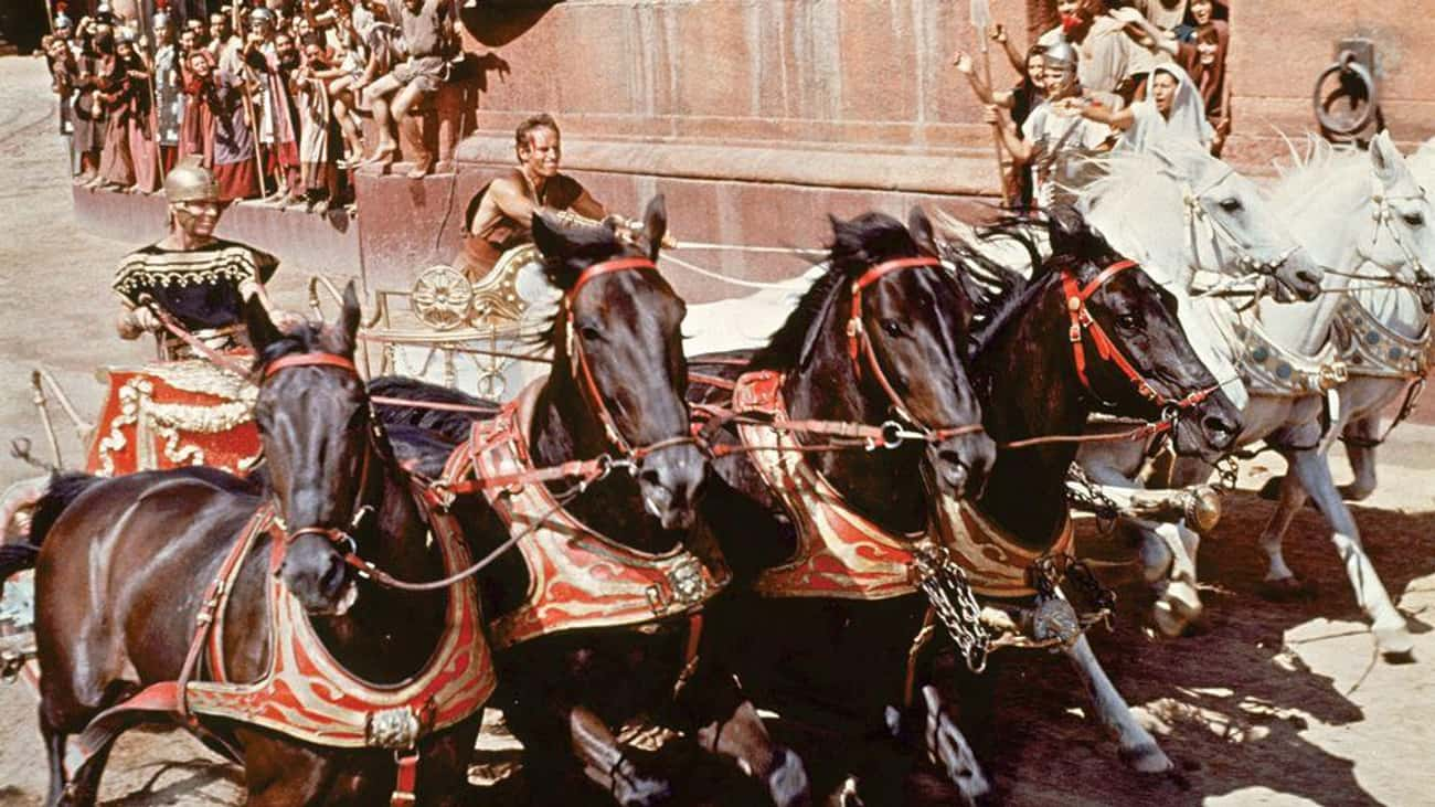 Ben-Hur (1959) is listed (or ranked) 1 on the list The Biggest Movie Sets in Film History