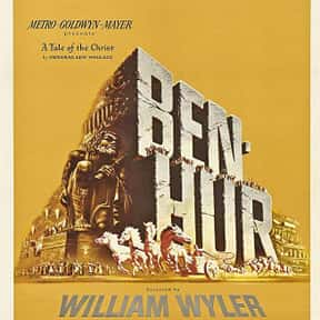 Ben-Hur is listed (or ranked) 18 on the list The Best Historical Drama Movies Of All Time, Ranked