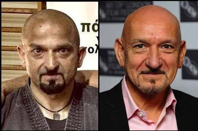 Greek Martial Artist And Retired Military Officer Karipidis Kostas Looks A Lot Like Ben Kingsley