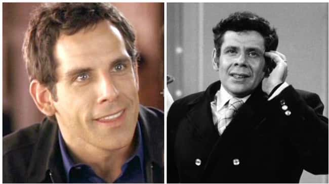 Ben Stiller is listed (or ranked) 9 on the list 18 Photos Of Celebrities And Their Famous Parents At The Same Age