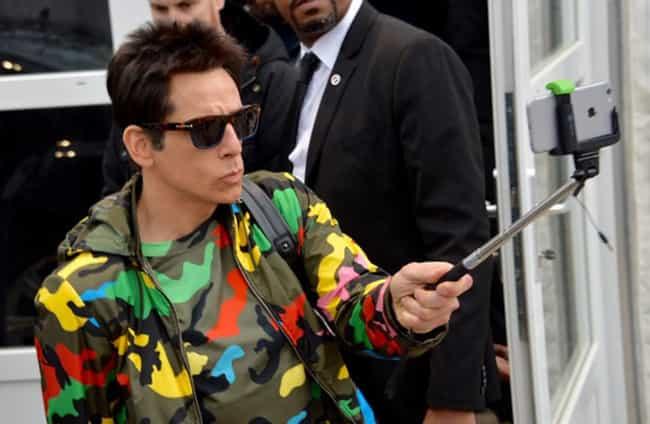 Ben Stiller is listed (or ranked) 3 on the list Celebrities Caught Using Selfie Sticks