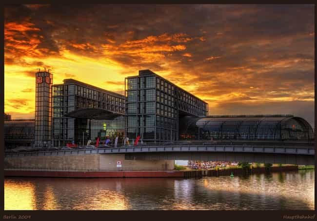 Berlin is listed (or ranked) 3 on the list The Best World Cities for Artists