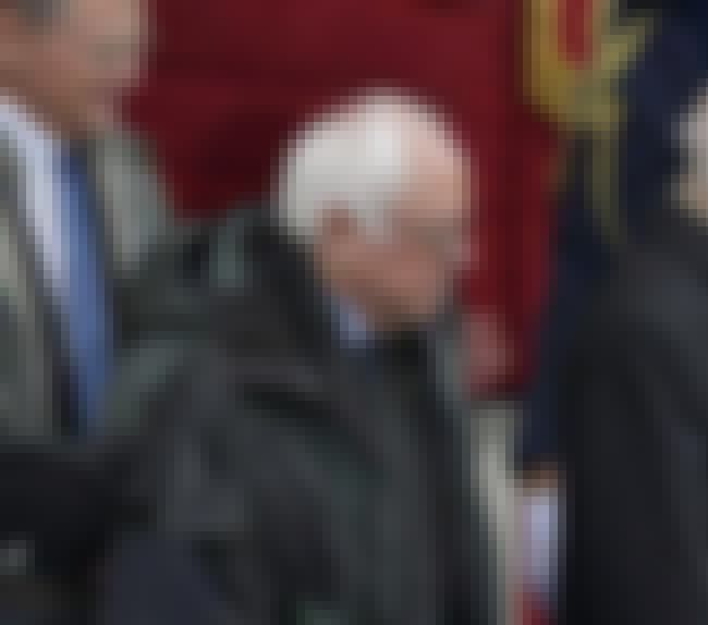 Bernie Sanders is listed (or ranked) 3 on the list 10 Of The Most Soul-Crushing Faces From The Trump Inauguration