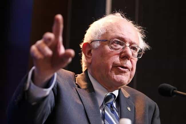Bernie Sanders is listed (or ranked) 1 on the list Current Jewish Senators