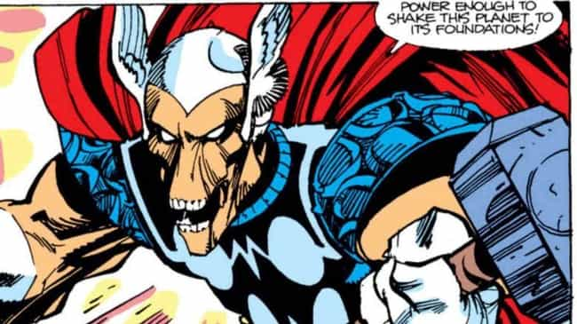 Beta Ray Bill is listed (or ranked) 3 on the list Everyone Who Has Wielded Mjolnir In Marvel Comics