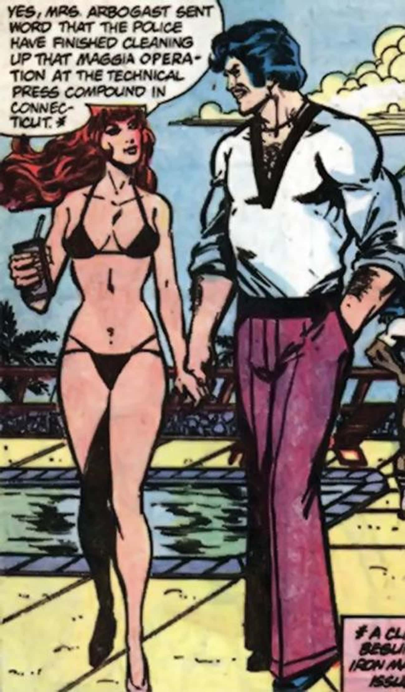 Bethany Cabe is listed (or ranked) 3 on the list The Best of Iron Man's Many Girlfriends and Lovers