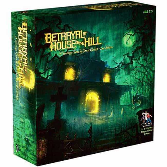 Betrayal at House on the Hill is listed (or ranked) 1 on the list The Scariest Board Games To Play With Your Friends