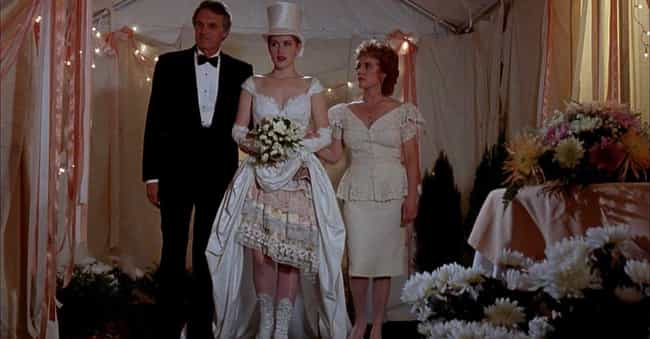 Betsy's Wedding is listed (or ranked) 2 on the list The Worst Wedding Dresses In Romantic Comedy History