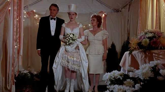 Betsy's Wedding is listed (or ranked) 2 on the list The Worst TV And Movie Wedding Dresses