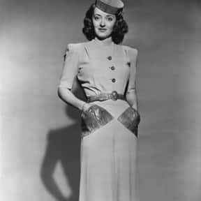 Bette Davis is listed (or ranked) 6 on the list The Greatest Entertainers of All Time