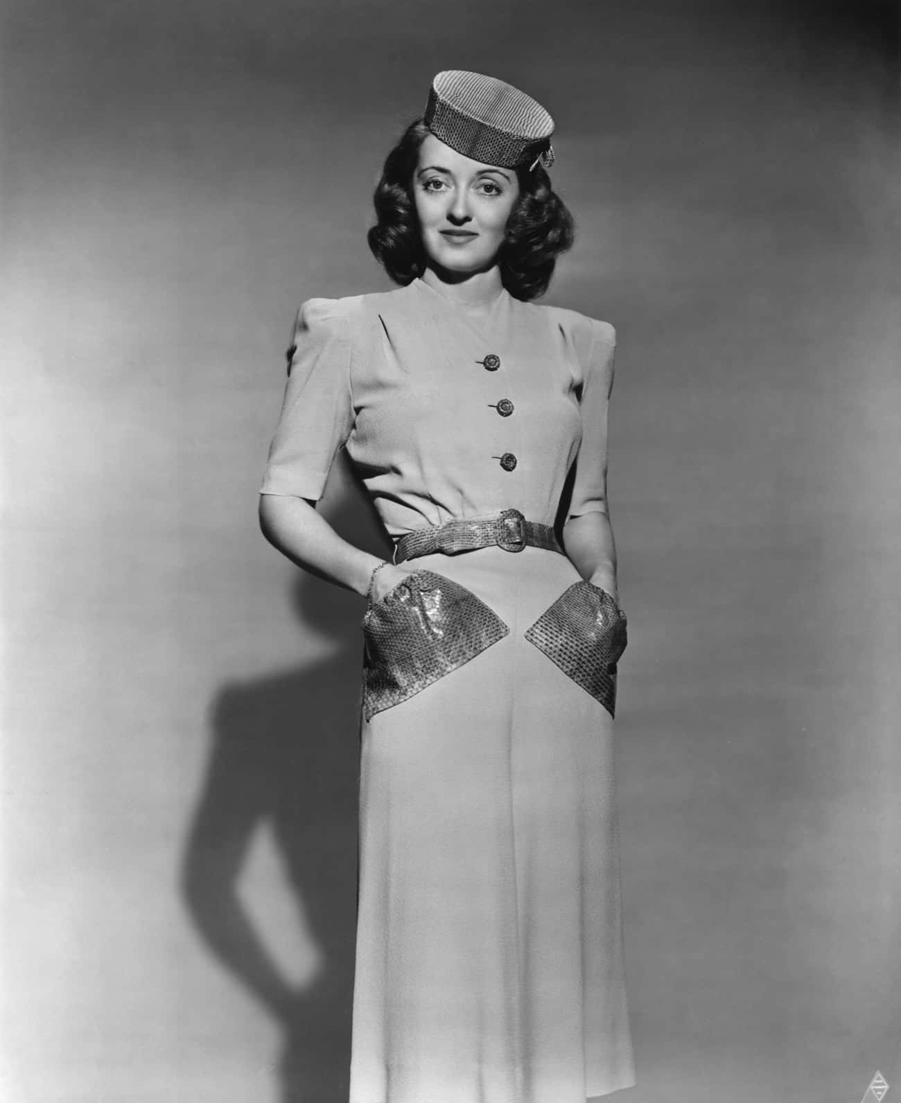 Bette Davis is listed (or ranked) 3 on the list Famous People Who Died of Breast Cancer