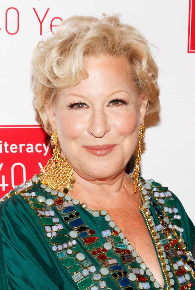 Bette Midler is listed (or ranked) 3 on the list Famous People Born in 1945