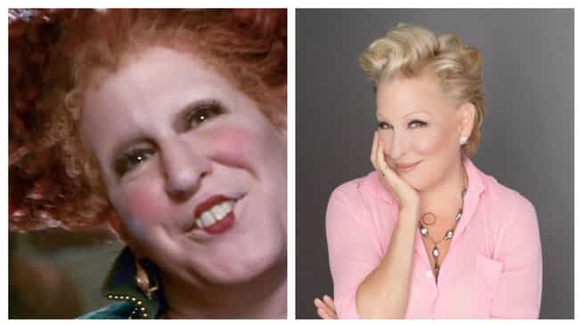 Bette Midler is listed (or ranked) 1 on the list What Happened To The Cast Of Hocus Pocus?
