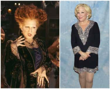 Bette Midler – Winifred Sander is listed (or ranked) 1 on the list What Happened To The Cast Of Hocus Pocus?