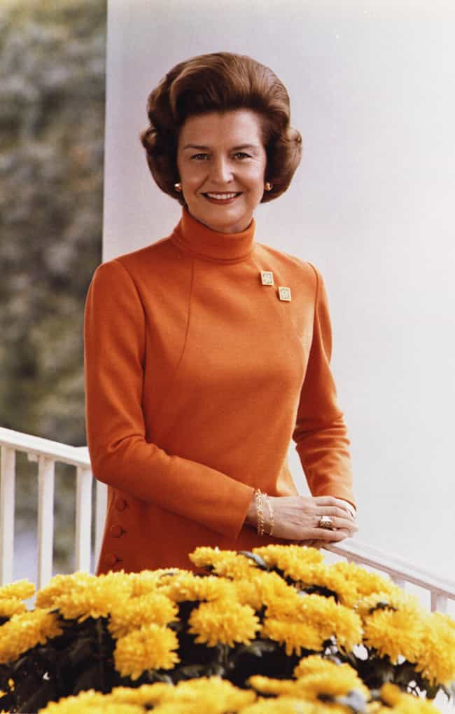 Betty Ford is listed (or ranked) 4 on the list Political Wives Who Overshadowed Their Husbands