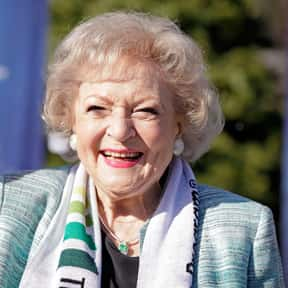 Betty White is listed (or ranked) 22 on the list Who Was America's Girlfriend in 2016?