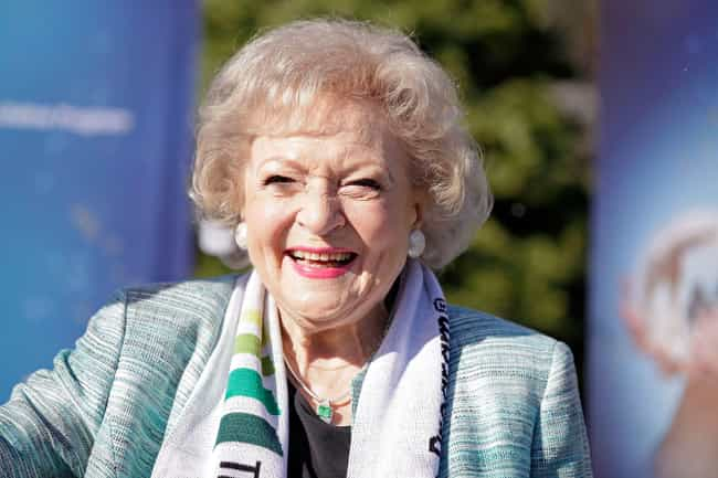 Betty White is listed (or ranked) 4 on the list Who Is America's Sweetheart in 2019?