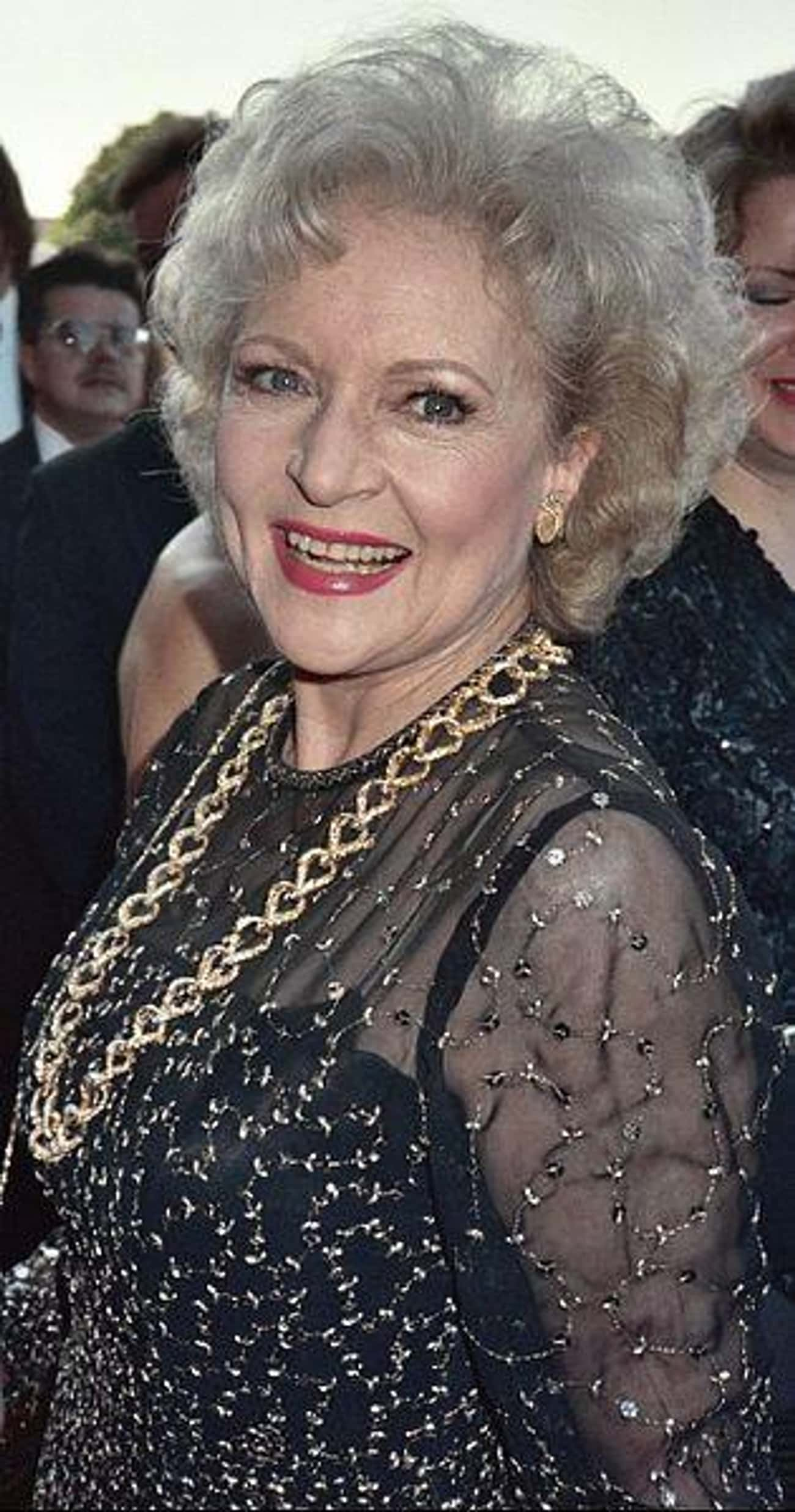 Betty White is listed (or ranked) 2 on the list Celebrities Who Have Always Been Old