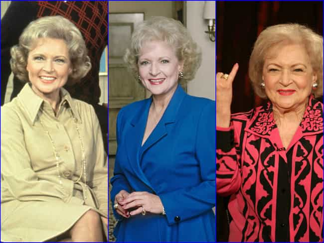 Betty White is listed (or ranked) 3 on the list The Greatest Hollywood Comebacks of All Time